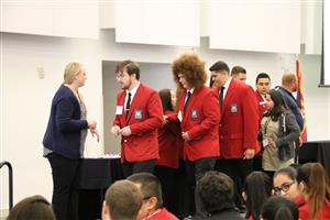 Students from Kofa receive awards at SkillsUSA Regionals.