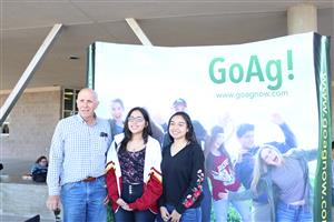 Go Ag visited campuses across the district.
