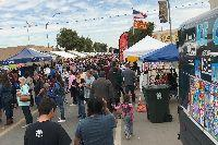 A large crowd at the 2017 Tamale Festival in Somerton.