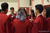 Students gather at SkillsUSA leadership conference.