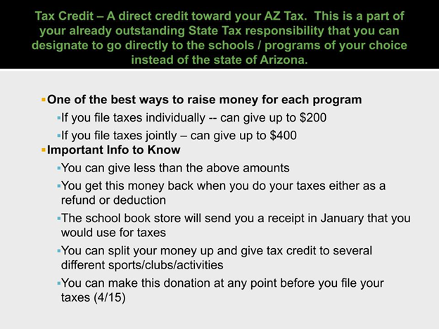 Tax Credit Information