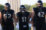 The Cibola captains enter the field