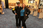 Cibola counselor visits US Naval Academy