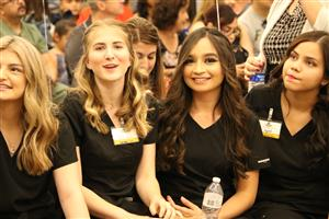 Cibola nursing students