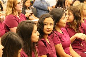 Kofa nursing students