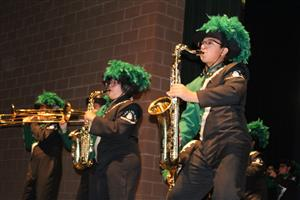 SLHS Band photo by Lucy Lopez