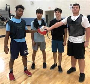 GRHS students play all ball